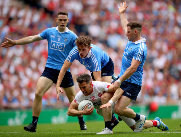 Brian Fenton, Michael Fitzsimons and Philip McMahon with Matthew Donnelly