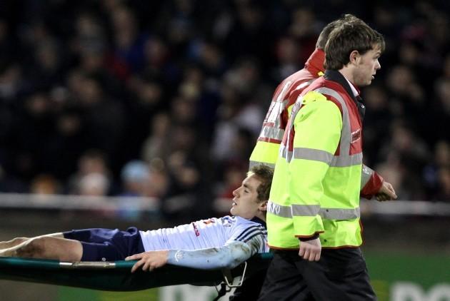 Paul Griffin injured