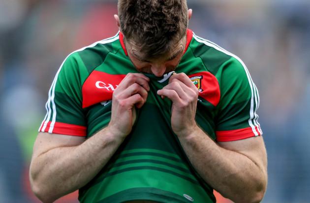 Seamus O'Shea dejected