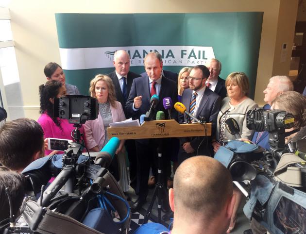 Fianna Fáil Parliamentary Party Meeting