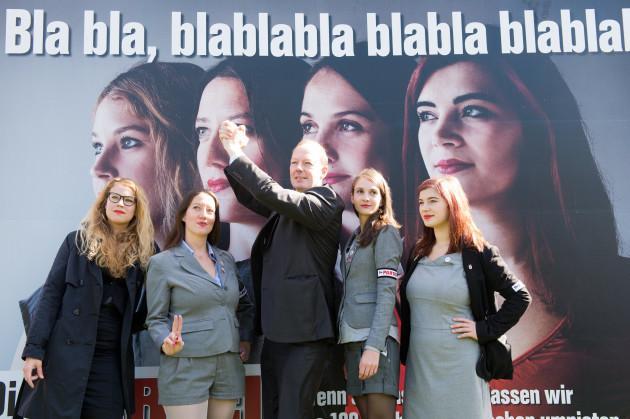 Poster campaign Die Partei