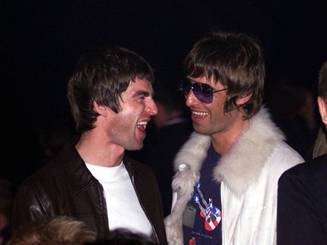NME Awds Noel & Liam