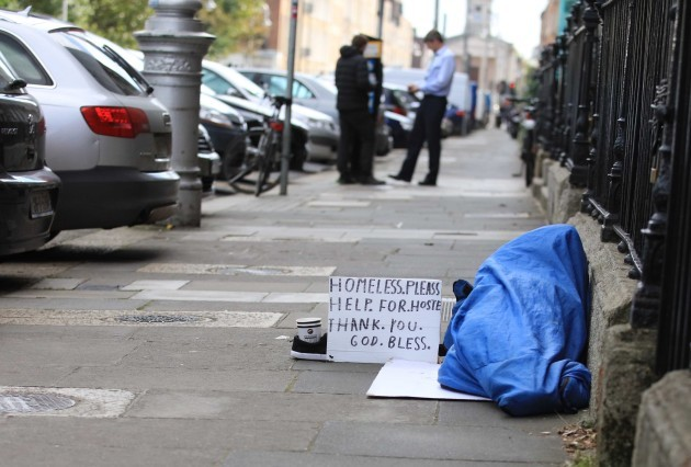 File Photo THERE WERE OVER 2,700 homeless children staying in emergency accommodation on a single week last month, a new record high
