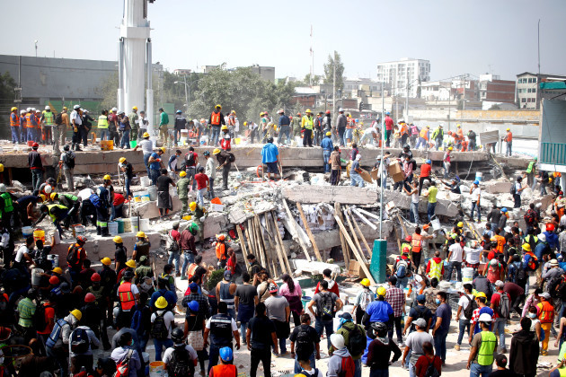 MEXICO-MEXICO CITY-ENVIRONMENT-EARTHQUAKE