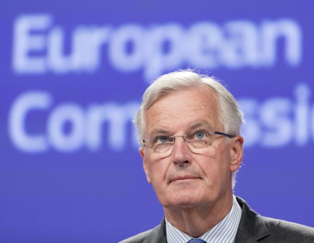 Brexit Negotiator Michel Barnier Press Brief - Brussels