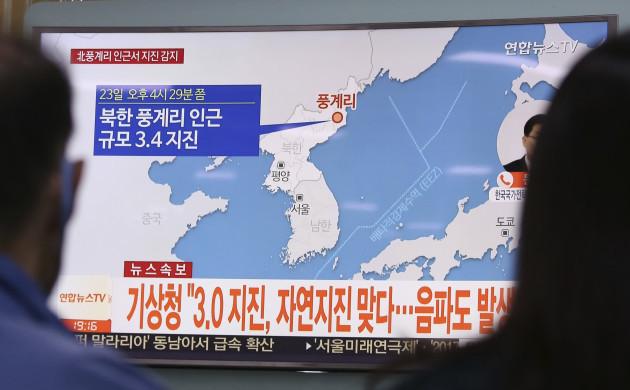 South Korea North Korea Earthquake