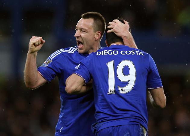 Chelsea v Manchester United - Barclays Premier League - Stamford Bridge