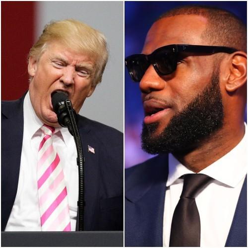 e7c47785f32 LeBron James calls Donald Trump a  bum  as US sports stars get political