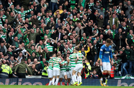 Rangers v Celtic - Ladbrokes Scottish Premiership - Ibrox Stadium