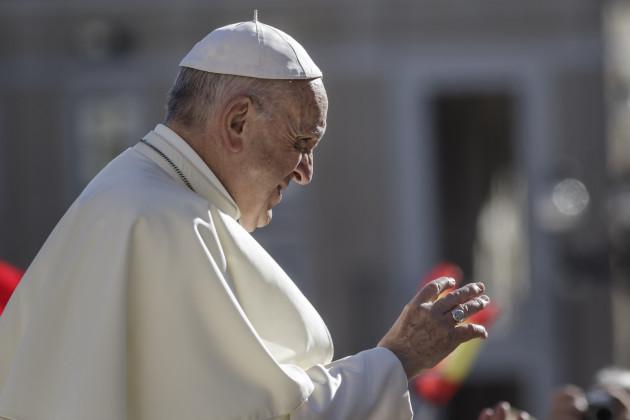 Vatican: Pope Francis Weekly General Audience in Vatican