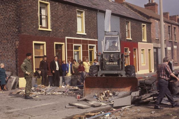 Northern Ireland - The Troubles - Argyle Street - Belfast