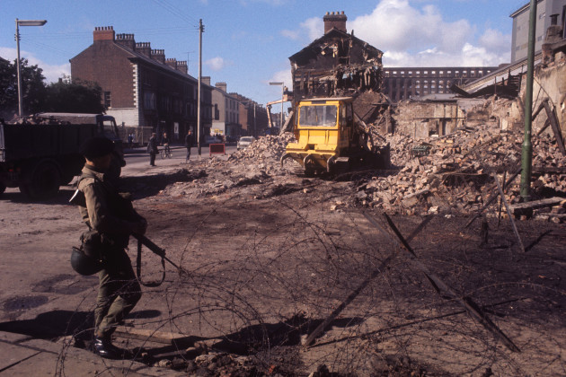 Northern Ireland - The Troubles - Falls Road - Belfast