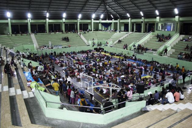 INDONESIA-BALI-VOLCANO-EVACUATION