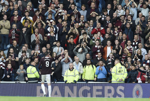 Rangers v Heart of Midlothian - Scottish Premiership - Ibrox