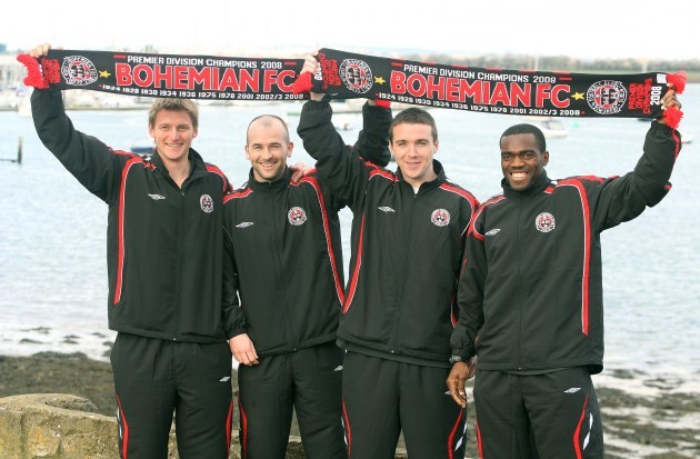 Matt Greg, Paul Keegan, Brian Shelley and Joseph Ndo
