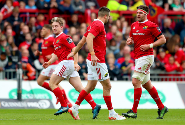 Conor Murray replaces Angus Lloyd