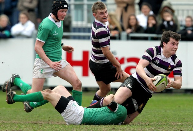 Niall Lalor tackled by Andy Clarke