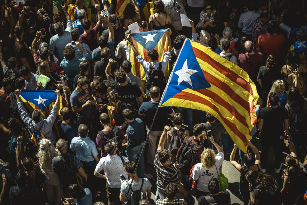 Catalan Separatists Promote Secession Referendum