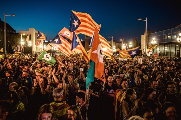 Catalan Independence Movement Closes Referendum Campaign