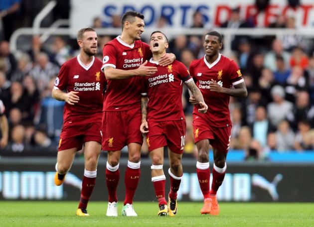 Newcastle United v Liverpool - Premier League - St James' Park
