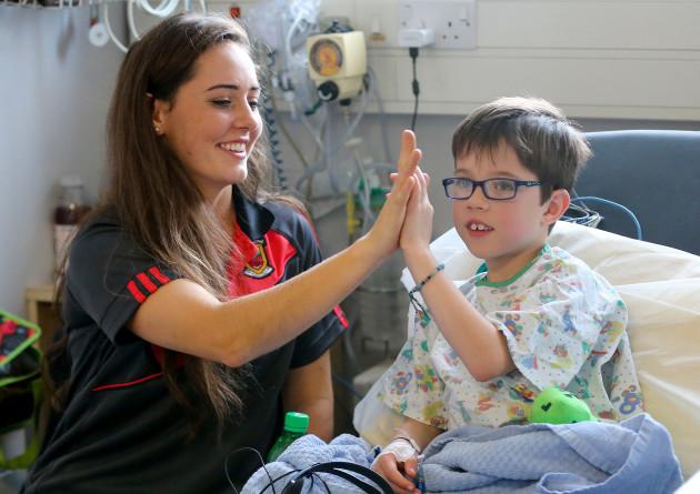 Tristan Gannon with Doireann Hughes