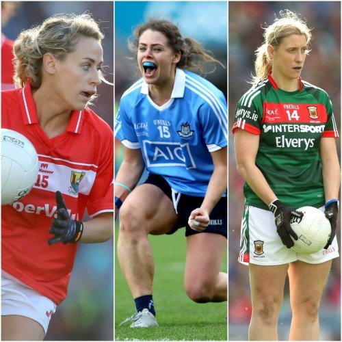 12 for Dublin, 9 for Cork, 6 for Mayo - 2017 Ladies football