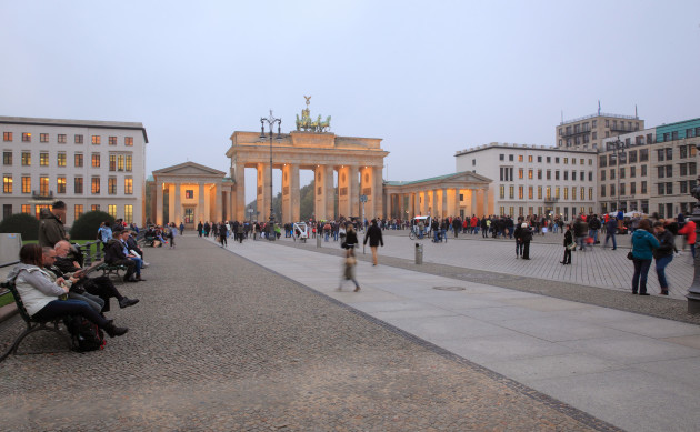 Pariser Platz and Brandenburg Gate, Berlin, Germany
