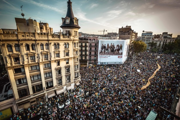 Catalonia Independence General Strike