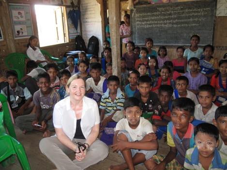 Rosamond in Myanmar