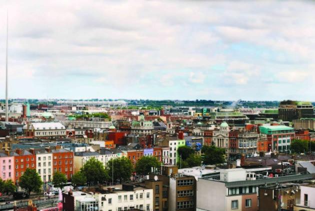 28/7/2014. Dublin Aerial Views