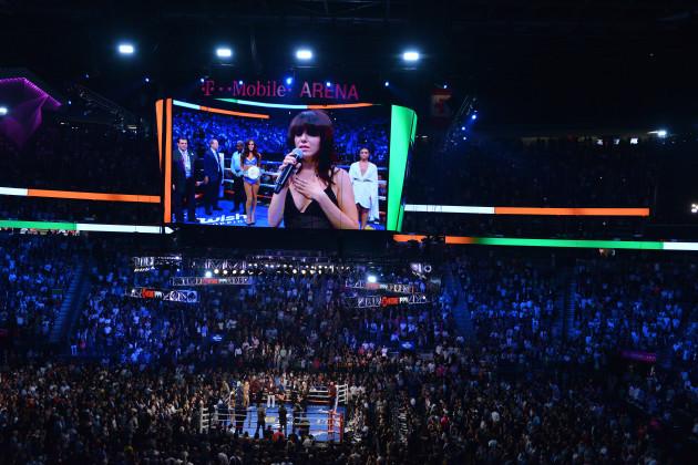 Floyd Mayweather Jnr v Conor McGregor - T-Mobile Arena