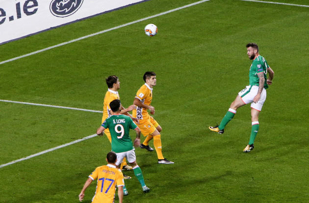 Daryl Murphy scores his side's second goal