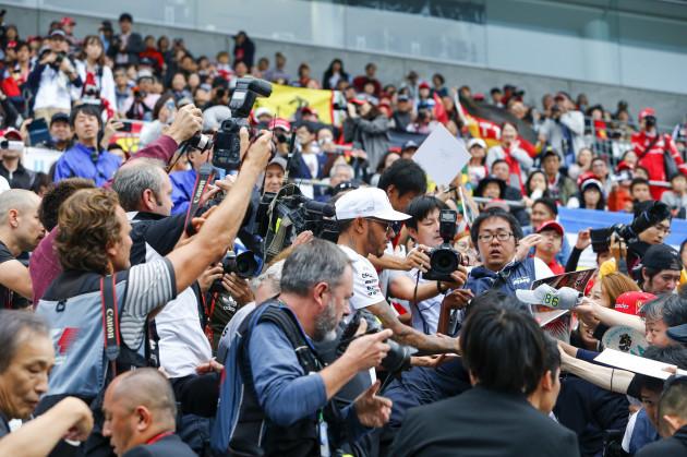 Motorsports: FIA Formula One World Championship 2017, Grand Prix of Japan