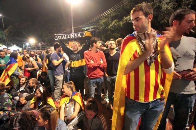 Catalan Independence Referendum Day - Barcelona