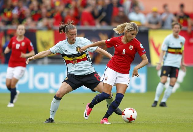 (SP)THE NETHERLANDS-BREDA-SOCCER-UEFA-WOMEN'S EURO-GROUP A-BEL VS NOR
