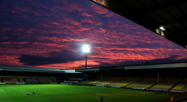 Port Vale v Newcastle United U21 - Checkatrade Trophy - Northern Group D - Vale Park
