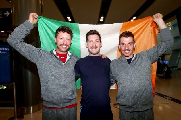 Mark O'Dovonan, Paul O'Donovan and Shane O'Driscoll