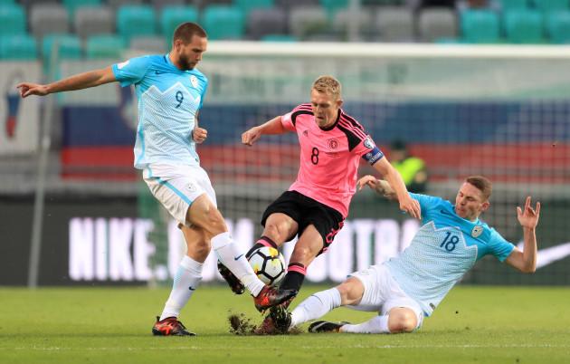 Slovenia v Scotland - 2018 FIFA World Cup Qualifying - Group F - Stadion Stozice