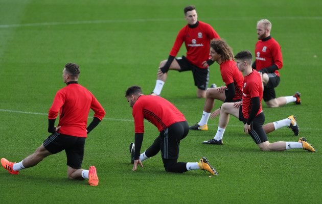 Wales Training Session - Vale Resort