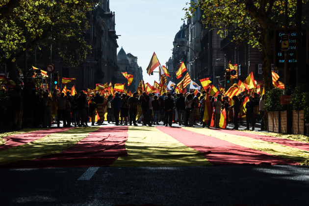 Demonstration against Catalan independence - Barcelona