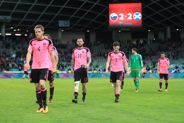 Slovenia v Scotland - 2018 FIFA World Cup Qualifying - Group F - Stadion Stozice