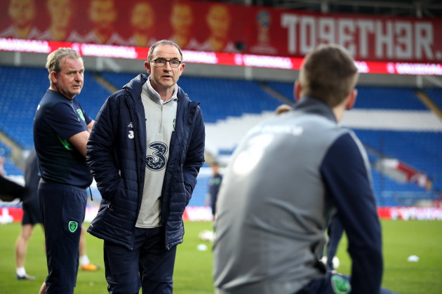 Republic of Ireland Training and Press Conference - Cardiff City Stadium