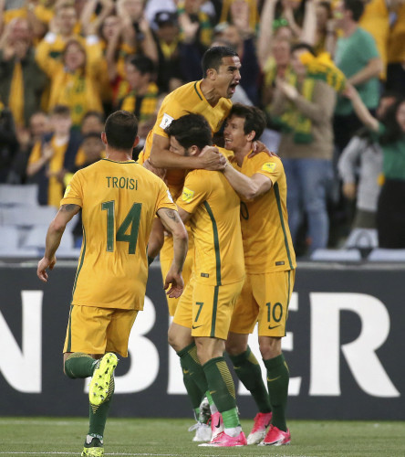 Australia Syria WCup Soccer