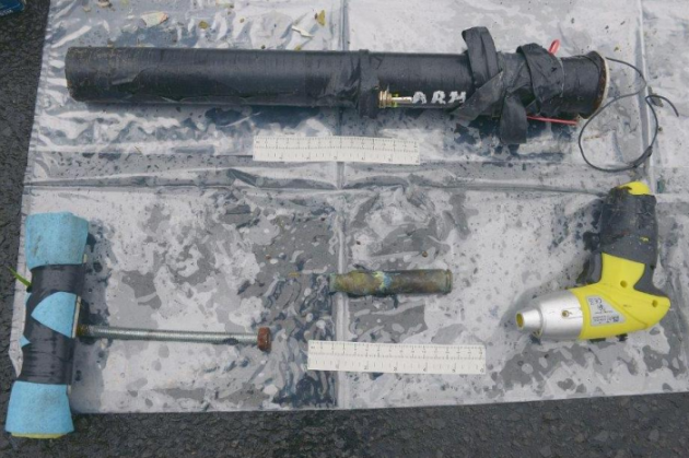 Budore Road Improvised Grenade Launcher