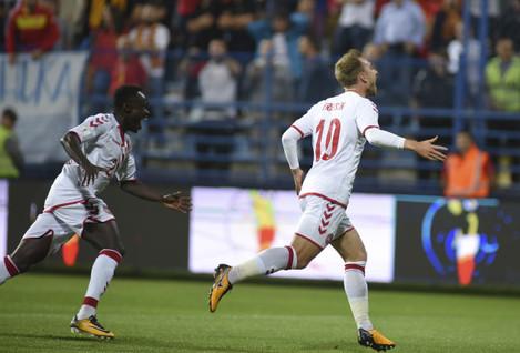 Soccer WCup 2018 Montenegro Denmark