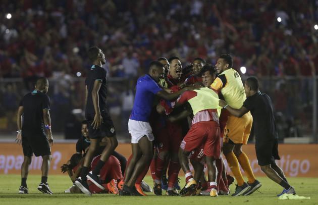 Panama Costa Rica Soccer Wcup