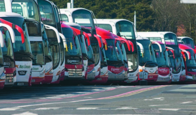 File Photo. Absenteeism at Bus Éireann has doubled, leading to cancellations of services