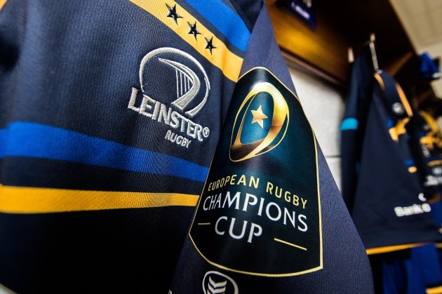 A general view of a Leinster jersey
