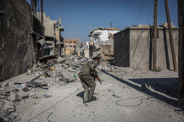 Fighting in Old City of Raqqa