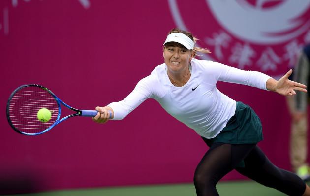 (SP)CHINA-TIANJIN-TENNIS-WTA-TIANJIN OPEN (CN)